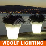 LED Flower Pot Garden Décoration Éclairage LED Flower Pot