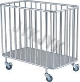 Carro do aço inoxidável para compo a cama & nutri-la