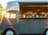 2018高速フライヤーのヌードルのシトロエンの移動式食糧トラックのトレーラーヴァン