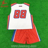 Basquetebol novo Sublimated tintura Jersey do estilo de Healong