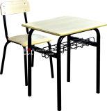 Mobiliario Escolar fija de alta calidad solo escritorio y silla para estudiante
