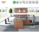 현대 L 모양 나무로 되는 행정실 가구 사무실 책상