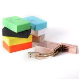 Zigaretten-Feuerzeug-Art-einziehbares Mikro USB-Kabel