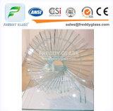 超明確なフロートガラスの8mmの高品質の低い鉄