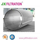 En acier inoxydable sur le fil enroulé la fente du tube de filtre en coin
