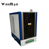 Hardware marcadora láser de fibra de joyas de metal piezas de metal de marcado láser máquina de impresión con la cubierta de seguridad