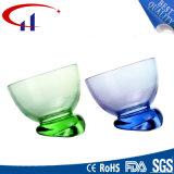 新しいデザイン安く明確なガラスアイスクリームのコップ(CHG8132)