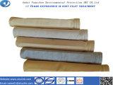 Carcaça de filtro acrílica não tecida do saco do filtro para a coleção de poeira com amostra livre