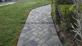 De de natuurlijke Kei/Straatsteen van de Tuin van het Graniet voor OpenluchtTuin