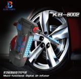 ポータブル組み込みのゲージおよびライトが付いている12ボルトのタイヤのインフレーター