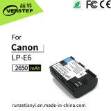 キャノンLPE6/Lp E6n Lpe6/Lpe6nの表示電気の量のための新しい解読のデジタルカメラ電池