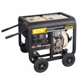 La singola aria del cilindro ha raffreddato il tipo aperto generatore di potere portatile del diesel