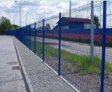 PVCは3Dによって溶接された金網の塀か塀のパネルに塗った