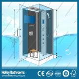 Viereck Hingle Computer-Bildschirmanzeige-Dusche-Zelle mit Glasregal (SR114B)