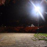 Lampe légère solaire d'avant-toit de maison de voie de jardin de qualité de détecteur de mouvement