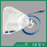 医学の使い捨て可能な2000+200ml大きい二重ハンガーの尿のメートル(MT58043501-01)