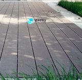 옥외 공원과 정원 WPC Decking를 위해 반대로 미끄러지기