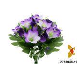 인공 적이고 Plastic/Silk Flower Rosebud/Lily Mixed 부시 (2718048-19)