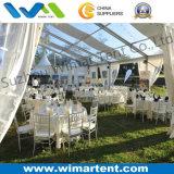 Tente de luxe 15X15m avec toit dégagé et raffineries pour le golf