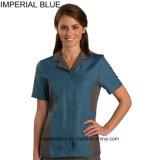 Casa que mantem o Housemaid uniforme do líquido de limpeza uniforme da equipe de funcionários do vestido uniforme