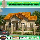 Подгонянная вилла Prefab панельного дома самомоднейшей конструкции низкой стоимости солнечная