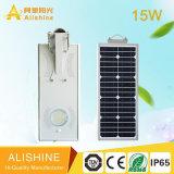 15W IP65 Solar-LED Straßenlaterneder im Freienlampen-