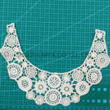 Wholesale Fashion Machine Embroidery Laces Collar for Girls Cotton Fabric
