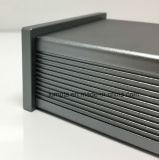 PCB 구멍 PCB 밀어남 Alumini를 각인하는 알루미늄 전자 밀어남 울안 또는 알루미늄 단면도 OEM 6063 양극 처리된 내밀린 LED 알루미늄 단면도 제조자