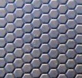 Couvre-tapis en caoutchouc stable de petite de POINT vache Grooved à configuration en 4 pi X 6 pi