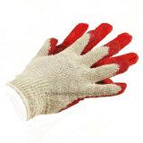 Ce En388 Безопасность работы хлопчатобумажная пряжа покрытие Латексные перчатки