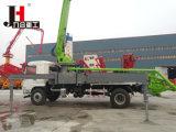 인도에 있는 Sale를 위한 공장 Price 38m Mounted Concrete Pump Trucks