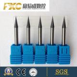 O carboneto de tungsténio 0.5Um Fxc colo longo 2 Flute Micro Moinho Final