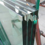 Vetro Tempered del Basso-Ferro su ordinazione 12mm di formato di fabbricazione 10mm della Cina