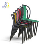 Sale를 위한 Colorful 싼 Modern Simple Design Stacking PP Plastic 정원 Chairs