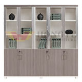 New Class Glass 5 Portes Office Scorage Armoire (HY-NNH-W05)