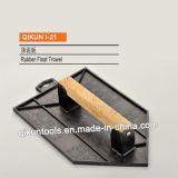 Строительство оформление пластиковой Trowel краски ручных инструментов с деревянной ручкой и подвесной кронштейн