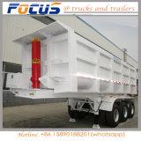 De op zwaar werk berekende Kipwagen van de Aanhangwagen van de Vrachtwagen van de Mijnbouw voor Dinas van het Zand Vervoer