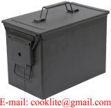 PA108 Fat 50 Cal Caixa de munições de metal de munições podem