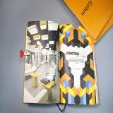 Ordinateur portable coloré de style simple Introduction/Brochure avec bande caoutchouc