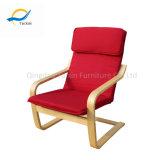 Moderno hotel de estilo simples lazer cadeira de madeira