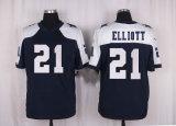 ダラスTroy AikmanのColeのBeasley Ezekiel Elliottのアメリカン・フットボールのジャージ