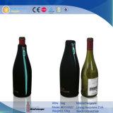 Doos van de Gift van de Wijn van het Leer van de Douane van de Luxe van de magneet de Decoratieve (6460R2)