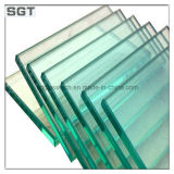 Clear / Supre Clear Float Glass Polished Edges 10mm Table Top ou surface d'écran