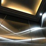 木を貼ることを用いるミラーのステンレス鋼フレームの観光のタイプ乗客のエレベーター