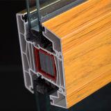 Profil d'extrusion de plastique pour les fenêtres en PVC