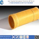 Цедильный мешок пылевого фильтра P84 горячего сбывания Nonwoven для собрания пыли