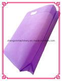 Saco não tecido quente do saco de Sele Eco que faz a máquina Zxl-C700