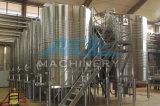 Los tanques de enfriamiento dados la bienvenida OEM no tóxicos del vino de la chaqueta