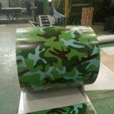 Bobina de acero prepintada PPGI de Aluzinc del material de material para techos con color popular