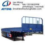 3-Axle 40FT Massenmais-Transport-Vorhang-Seiten-Behälter-halb Schlussteil